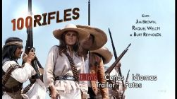 DVD 100 RIFLES - RAQUEL WELCH