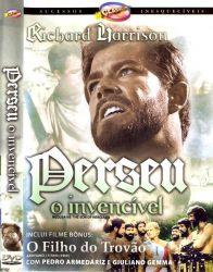 DVD PERSEU O INVENCIVEL - RICHARD HARRISON