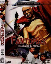 DVD FANTOMAS - O GUERREIRO DA JUSTIÇA