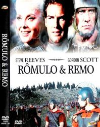 DVD ROMULO E REMO - STEVE REEVES