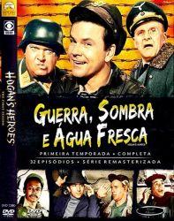 DVD GUERRA SOMBRA E AGUA FRESCA - 1 TEMP - 5 DVDs