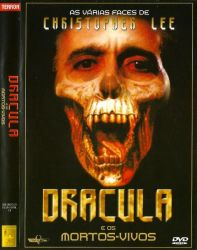 DVD AS VARIAS FACES DE CHRISTOPHER LEE - DRACULA E OS MORTOS VIVOS - ORIGINAL