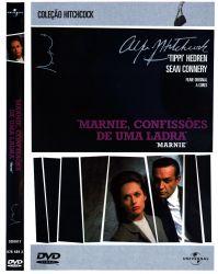 DVD MARNIE- CONFISSOES DE UMA LADRA - SEAN CONNERY