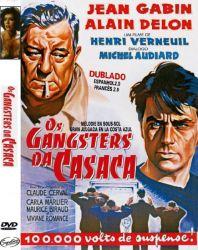 DVD OS GANGSTERS DE CASACA - ALAIN DELON