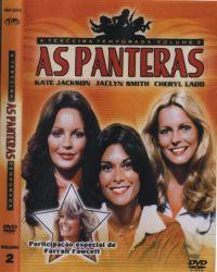 DVD AS PANTERAS - 3 TEMP - 6 DVDs