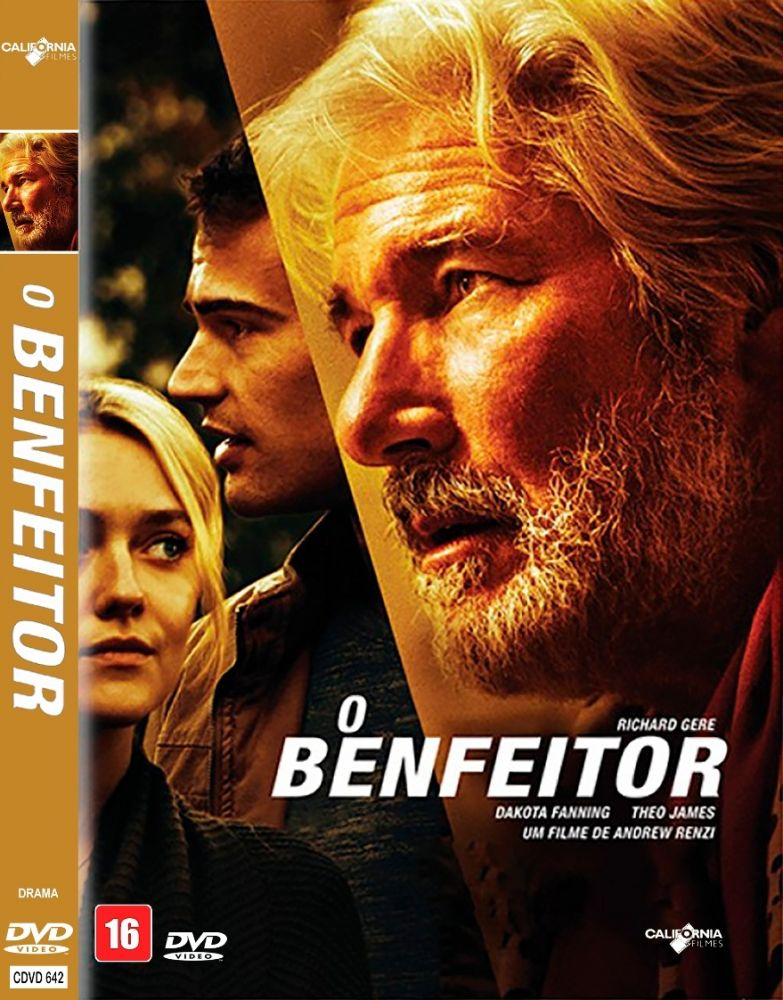 SPACETREK66 - DVD O BENFEITOR - RICHARD GERE