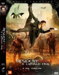 DVD RESIDENT EVIL 6 - O CAPITULO FINAL