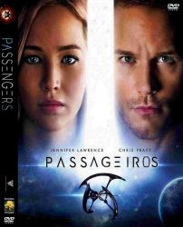 DVD PASSAGEIROS - JENNIFER LAWRENCE