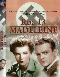 DVD RUA 13 MADELEINE - JAMES CAGNEY