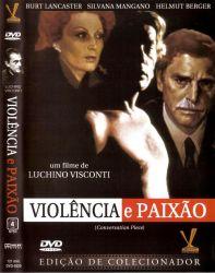 DVD VIOLENCIA E PAIXAO - BURT LANCASTER