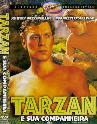 DVD TARZAN E SUA COMPANHEIRA - JOHNNY WEISSMULLER