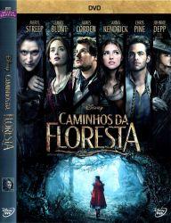 DVD CAMINHOS DA FLORESTA - MERYL STREEP