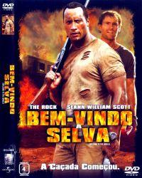 DVD BEM VINDO A SELVA - THE ROCK - DWAYNE JOHNSON