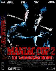 DVD MANIAC COP 2 - O VINGADOR