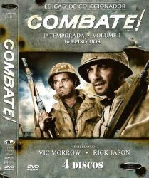 DVD COMBATE - 1 TEMP - VOL 1 - 4 DVDs