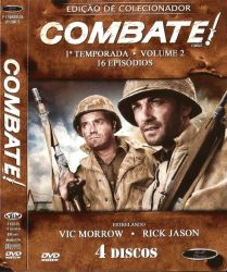 DVD COMBATE - 1 TEMP - VOL 2 - 4 DVDs