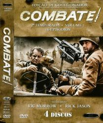 DVD COMBATE - 2 TEMP - VOL 1 - 4 DVDs