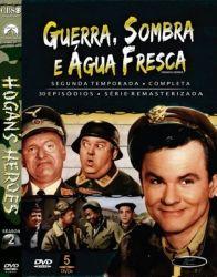 DVD GUERRA SOMBRA E AGUA FRESCA - 2 TEMP - 5 DVDs