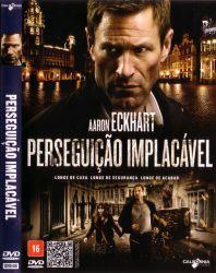 DVD PERSEGUIÇAO IMPLACAVEL - AARON ECKHART