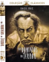 DVD NOS DOMINIOS DO TERROR - VINCET PRICE