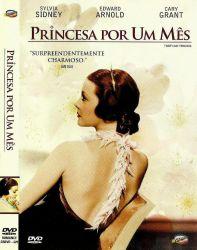 DVD PRINCESA POR UM MES - SYLVIA SIDNEY