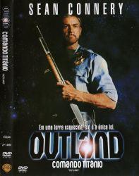 DVD OUTLAND COMANDO TITANIO - LEGENDADO