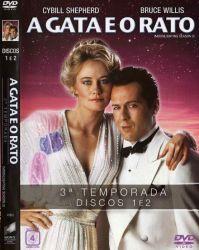 DVD A GATA E O RATO - 3 TEMP - 4 DVDs