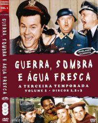 DVD GUERRA SOMBRA E AGUA FRESCA - 3 TEMP - 3 DVDs