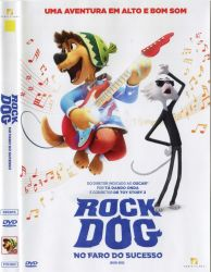 DVD ROCK DOG - NO FARO DO SUCESSO - LUKE WILSON