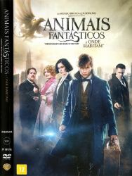 DVD ANIMAIS FANTASTICOS E ONDE HABITAM