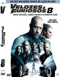 DVD VELOZES E FURIOSOS 8