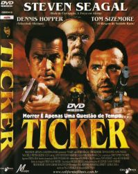 DVD TICKER - STEVEN SEAGAL
