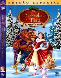 DVD A BELA E A FERA - O NATAL ENCANTADO
