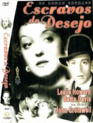DVD ESCRAVOS DO DESEJO - BETTE DAVIS - LESLIE HOWARD