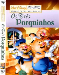 DVD OS TRES PORQUINHOS