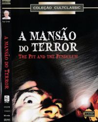 DVD A MANSAO DO TERROR - VINCENT PRICE