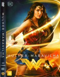 DVD MULHER - MARAVILHA - 2017 - GAL GADOT