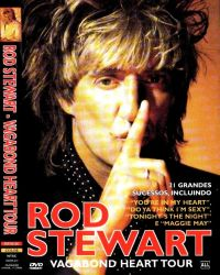 DVD ROD STEWART - ORIGINAL - VAGABOND HEART TOUR