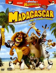 DVD MADAGASCAR - ORIGINAL