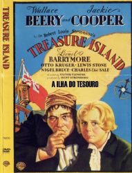DVD A ILHA DO TESOURO - 1934 - DUBLADO