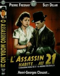 DVD O ASSASSINO MORA NO 21