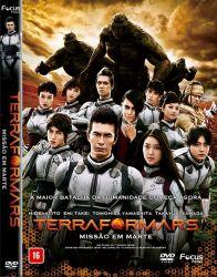 DVD TERRAFORMARS - MISSAO EM MARTE