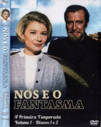 DVD NOS E O FANTASMA - 1 TEMP - 4 DVDs
