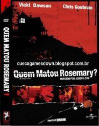 DVD QUEM MATOU ROSEMARY