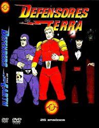 DVD DEFENSORES DA TERRA - 26 EPISODIOS