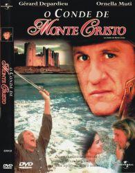 DVD O CONDE DE MONTE CRISTO - GERARD DEPARDIEU