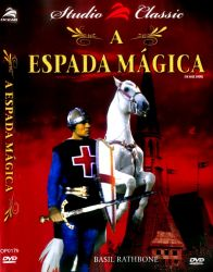 DVD A ESPADA MAGICA - BASIL RATHBORNE