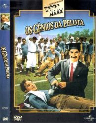 DVD OS GENIOS DA PELOTA - OS IRMAOS MARX