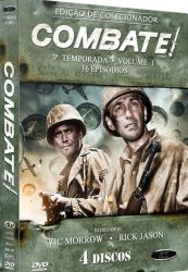 DVD COMBATE - 3 TEMP - VOL 1 - 4 DVD