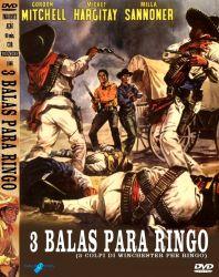 DVD 3 BALAS PARA RINGO - GORDON MITCHELL